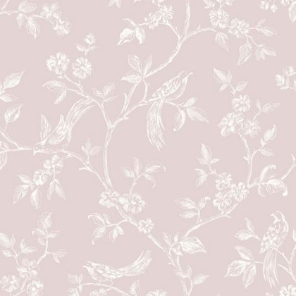 Homebase Pink Wallpaper