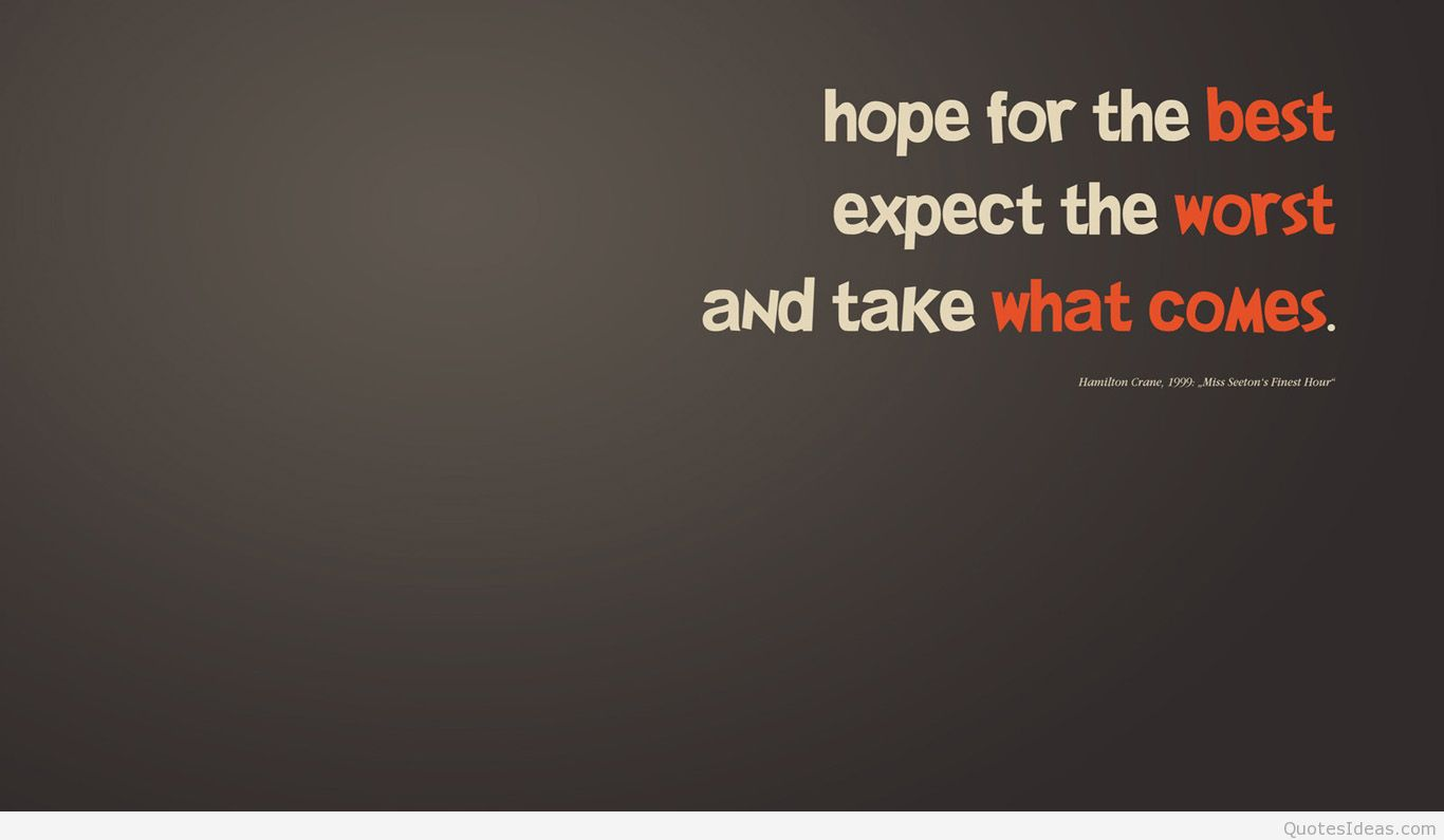 Hope Quotes Wallpaper