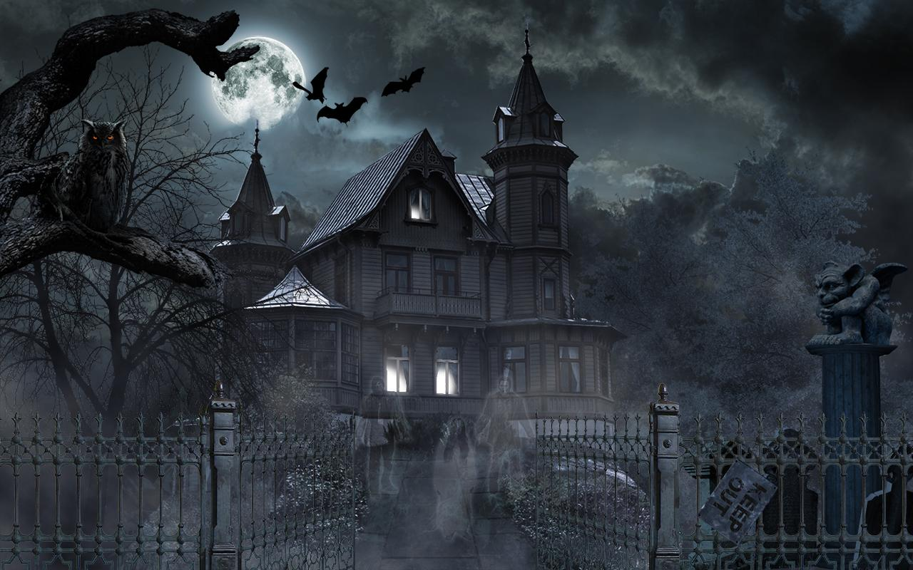 Horror House Live Wallpaper