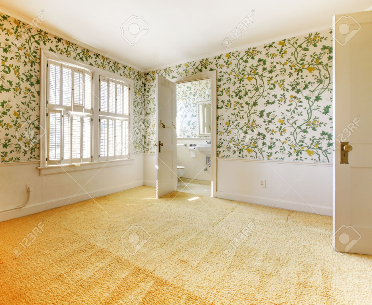 House With Wallpaper