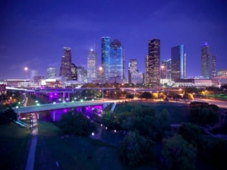 Mercedes Benz Houston >> Download Houston Skyline Wallpaper Gallery