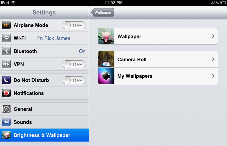 download how do i change the wallpaper on my ipad gallery