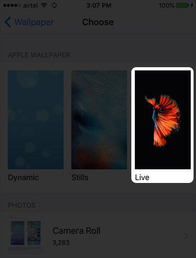 How Do You Get Live Wallpapers On Iphone