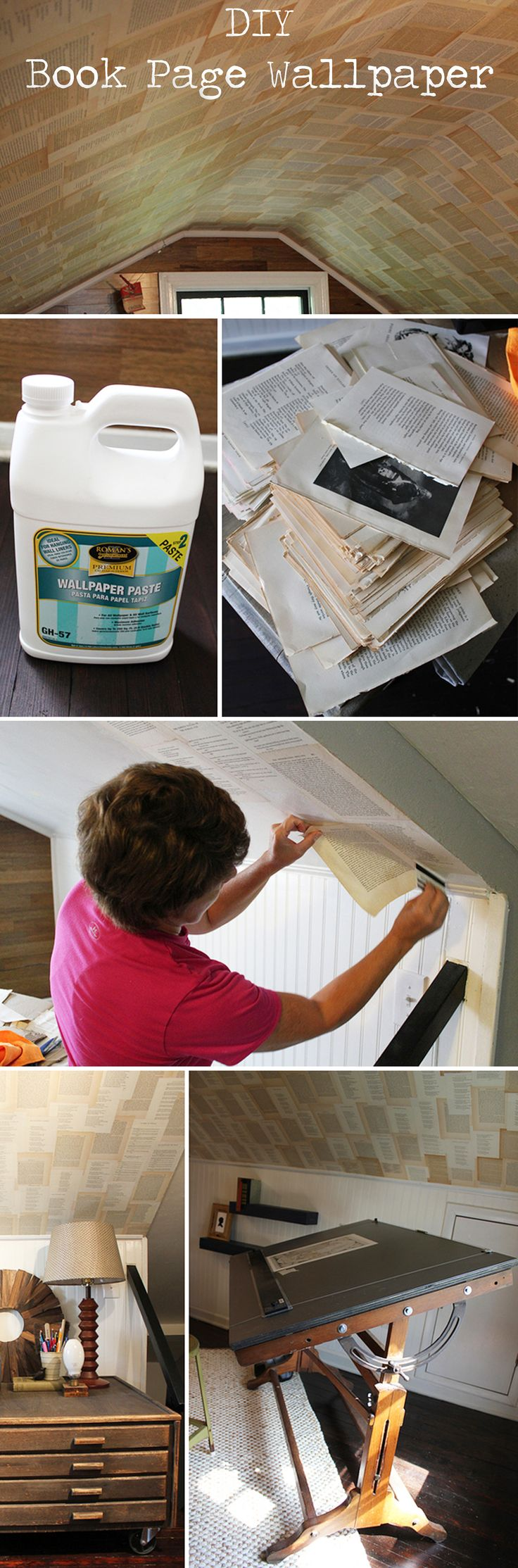 how to get wallpaper paste off plaster walls