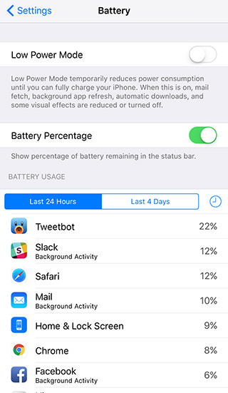How Much Battery Does Live Wallpaper Use