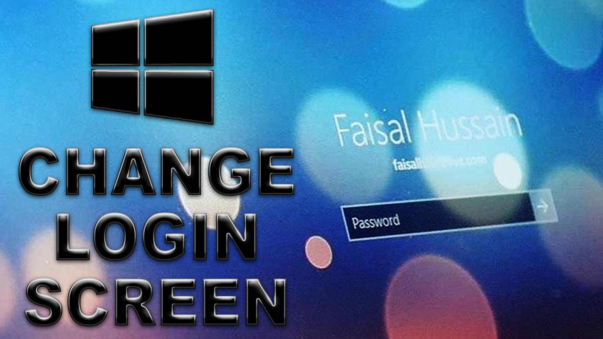 How To Change Login Screen Wallpaper