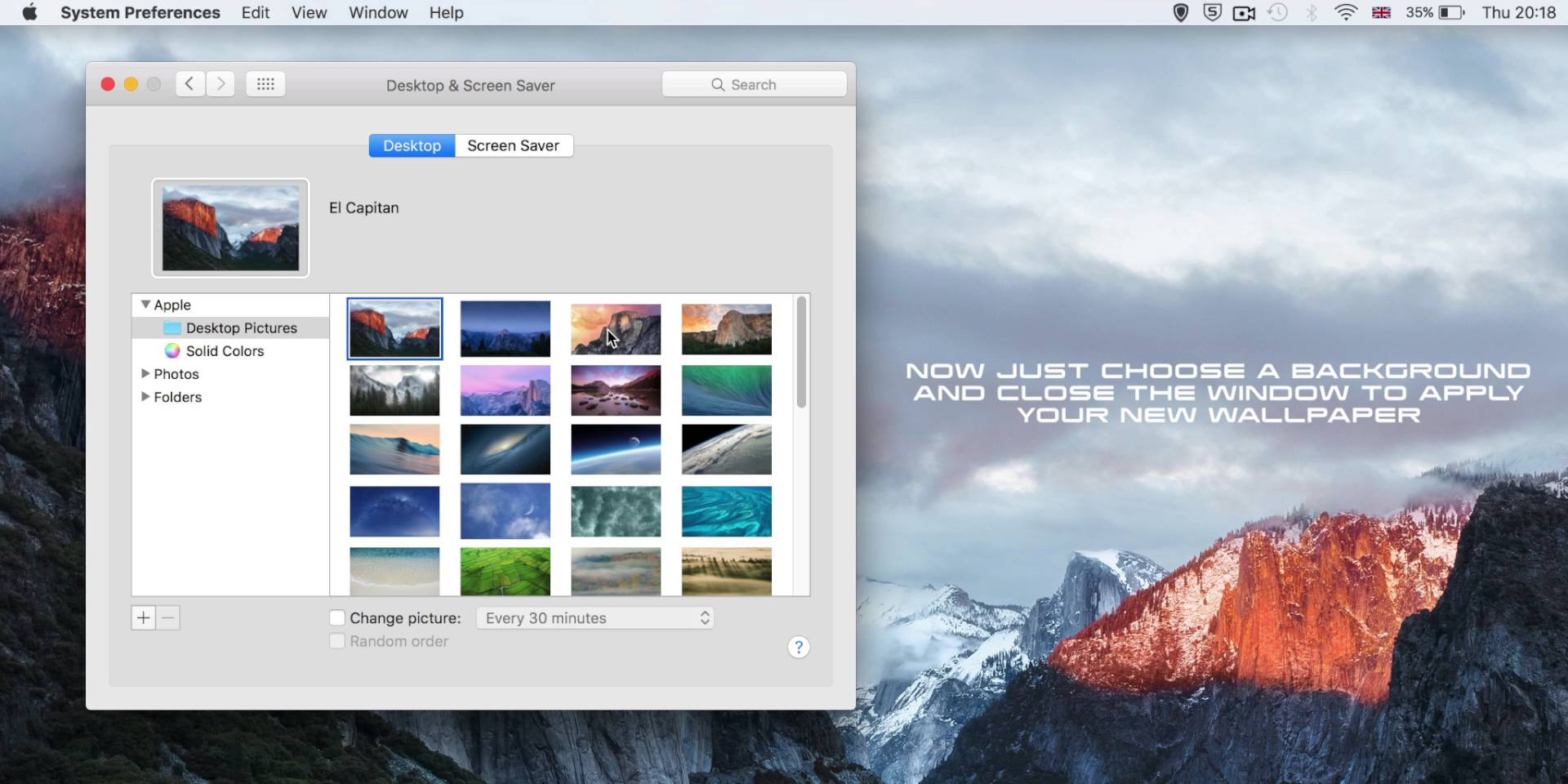 How To Change The Wallpaper On A Mac