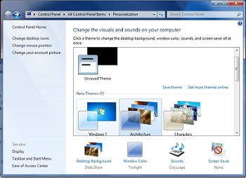 How To Change Wallpaper In Windows 7
