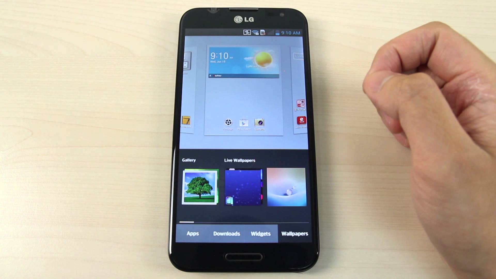 How To Change Wallpaper On Lg Phone