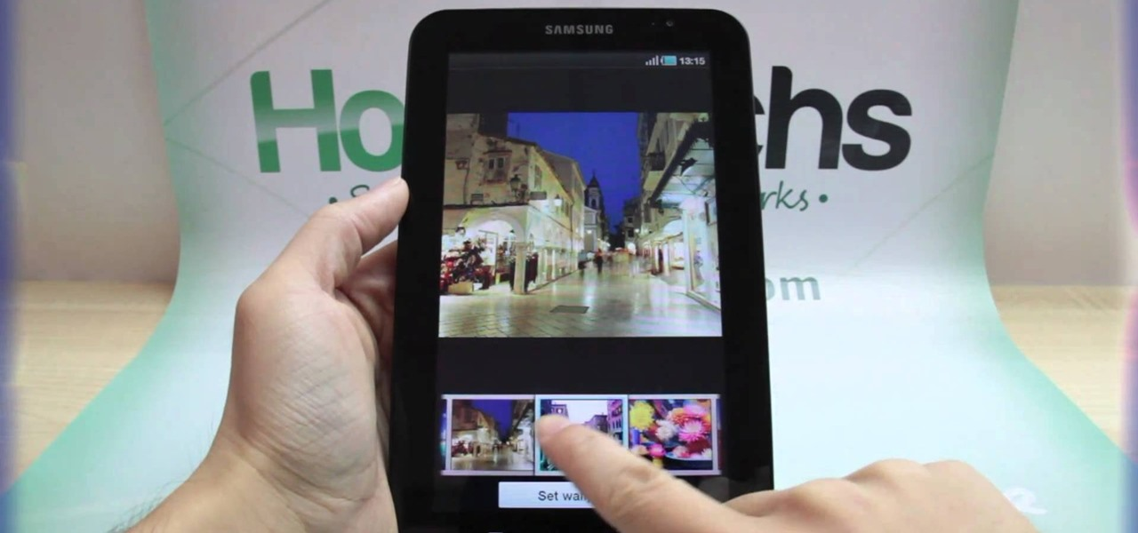 How To Change Wallpaper On Samsung Tablet