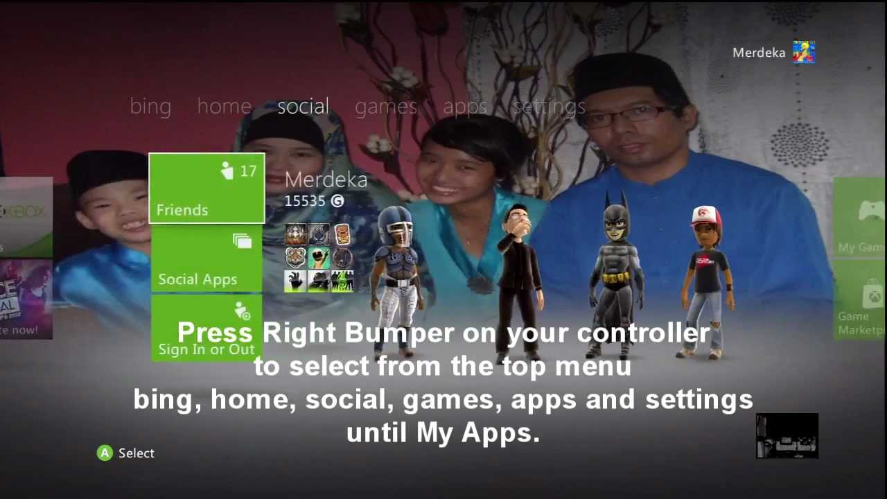 How To Change Wallpaper On Xbox 360