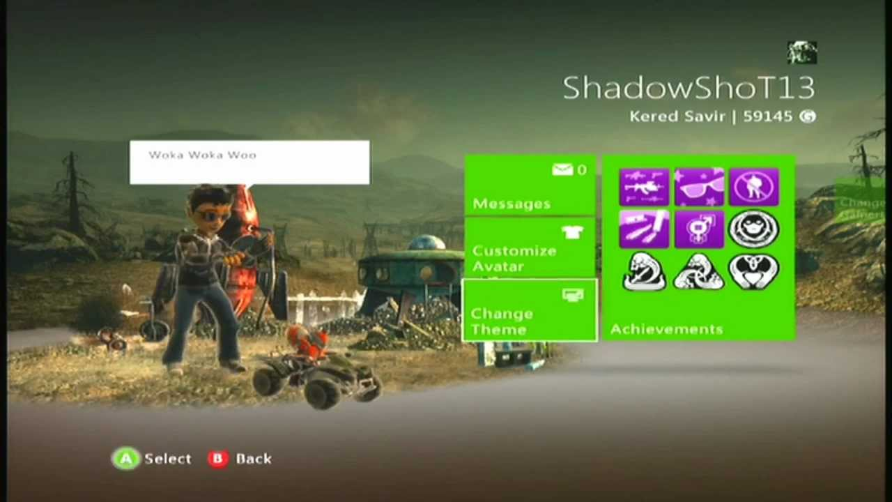 How To Change Your Wallpaper On Xbox 360