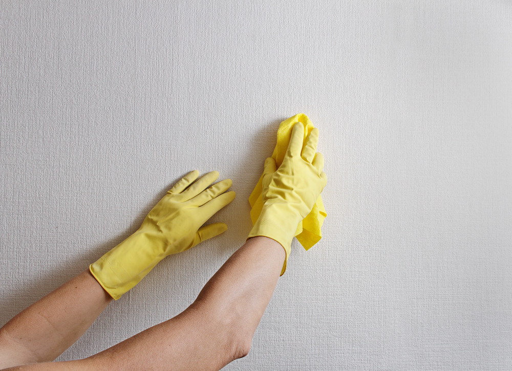 How To Clean Wallpaper Walls