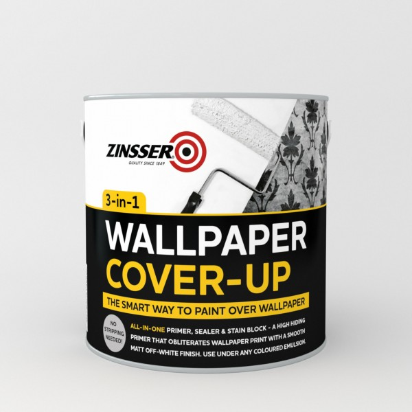 How To Cover Wallpaper
