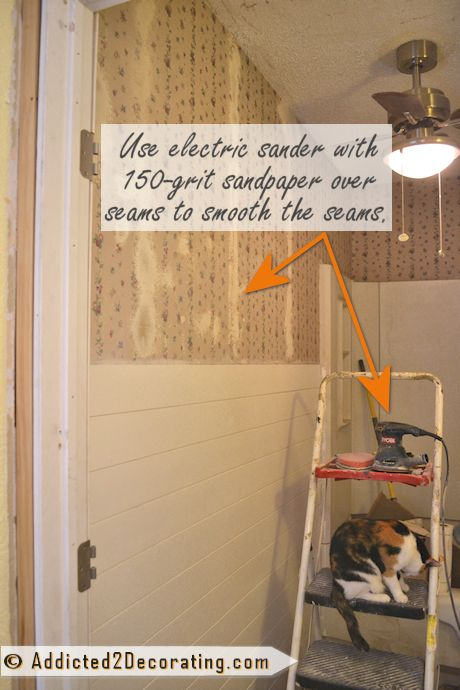 How To Cover Wallpaper Without Removing