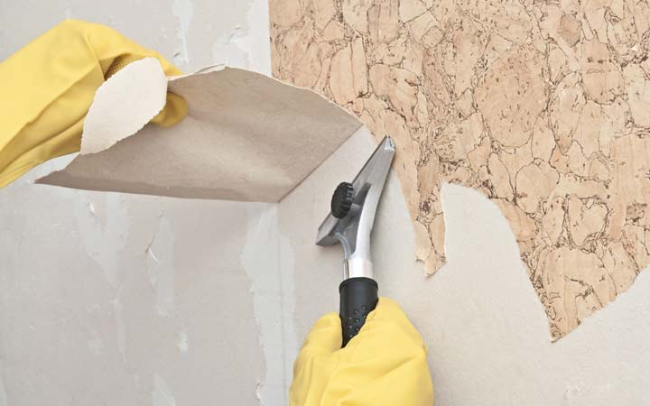 How To Easily Remove Wallpaper