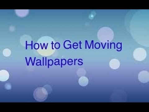 How To Get A Moving Wallpaper On Ipad