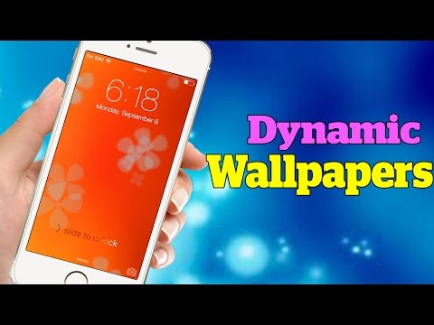How To Get Animated Wallpapers On Iphone