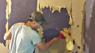 How To Get Glue Off Walls From Wallpaper