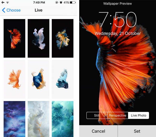 How To Get New Live Wallpapers