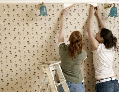 How To Get Old Wallpaper Paste Off Walls
