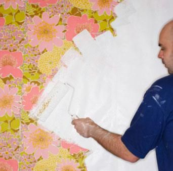 How To Get Painted Wallpaper Off