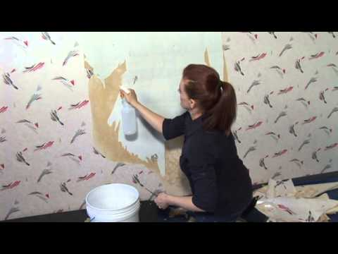 How To Get Wallpaper Glue Off
