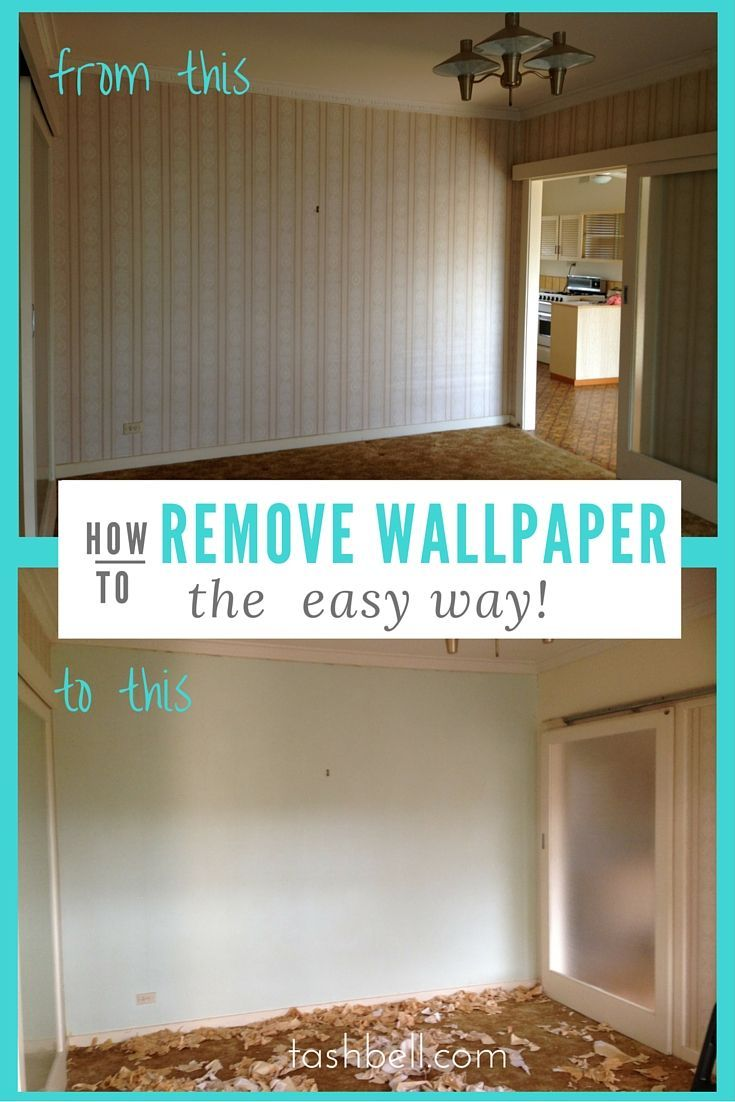 How To Get Wallpaper Off Wood