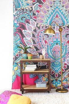 How To Hang Patterned Wallpaper On A Feature Wall