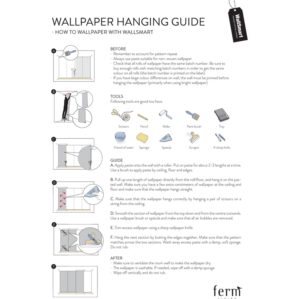 How To Hang Pictures On Wallpaper