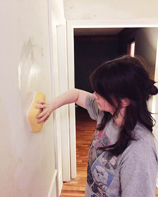 download how to paint a wall after removing wallpaper gallery