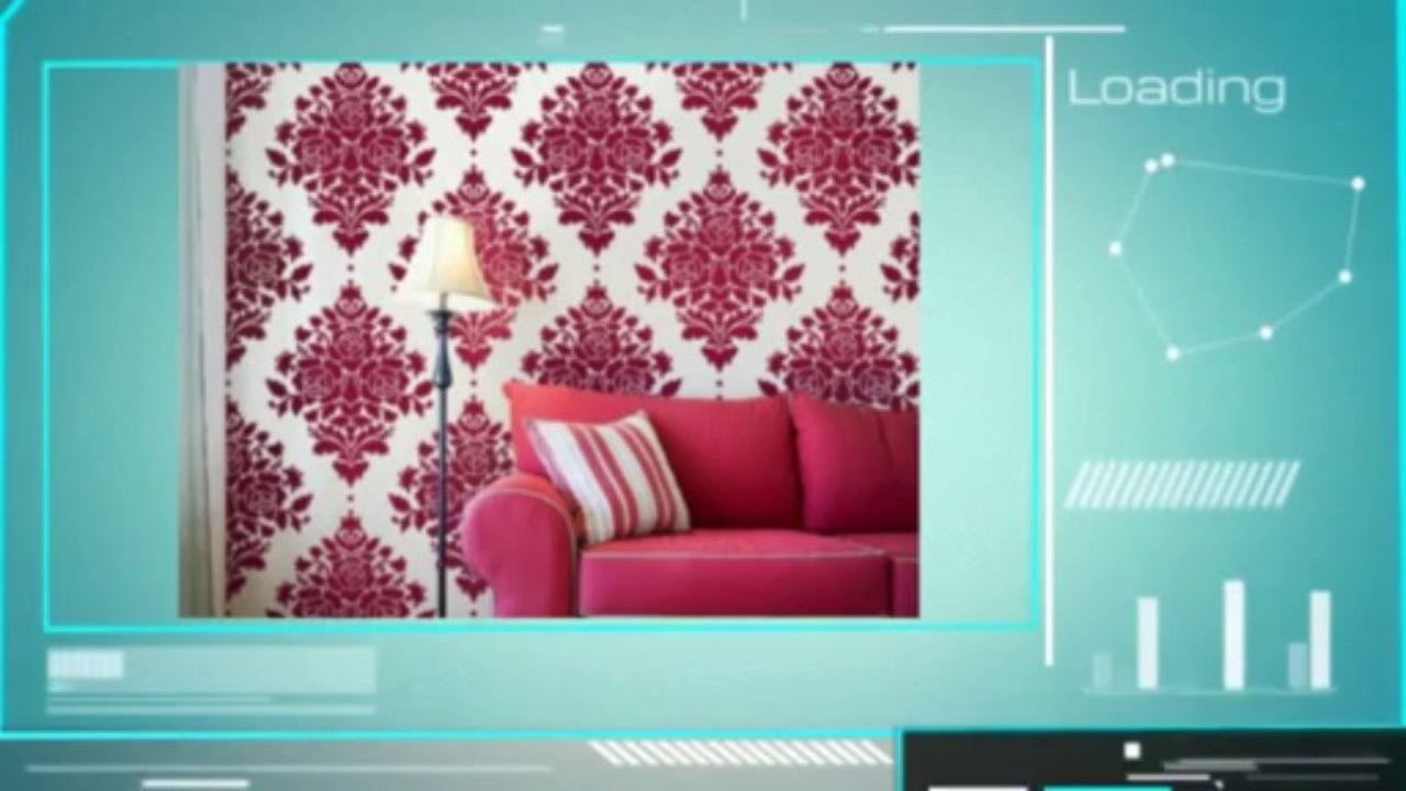 How To Paint Over Wallpaper Video