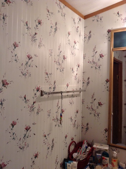 How To Paint Wallpaper In A Mobile Home