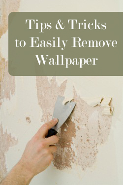 How To Peel Wallpaper