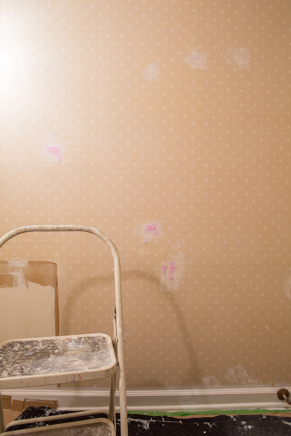 How To Prep Wallpaper For Painting