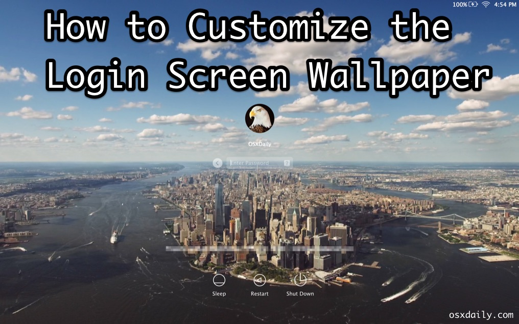 How To Put A Wallpaper On Mac