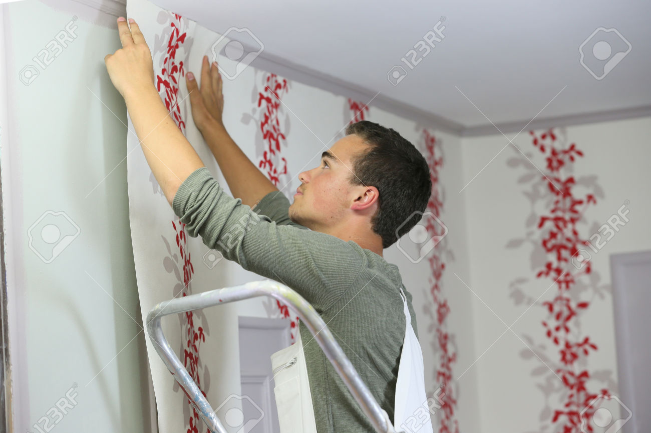 Download How To Put Up Wallpaper Gallery
