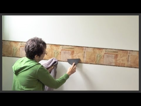 How To Put Up Wallpaper Border