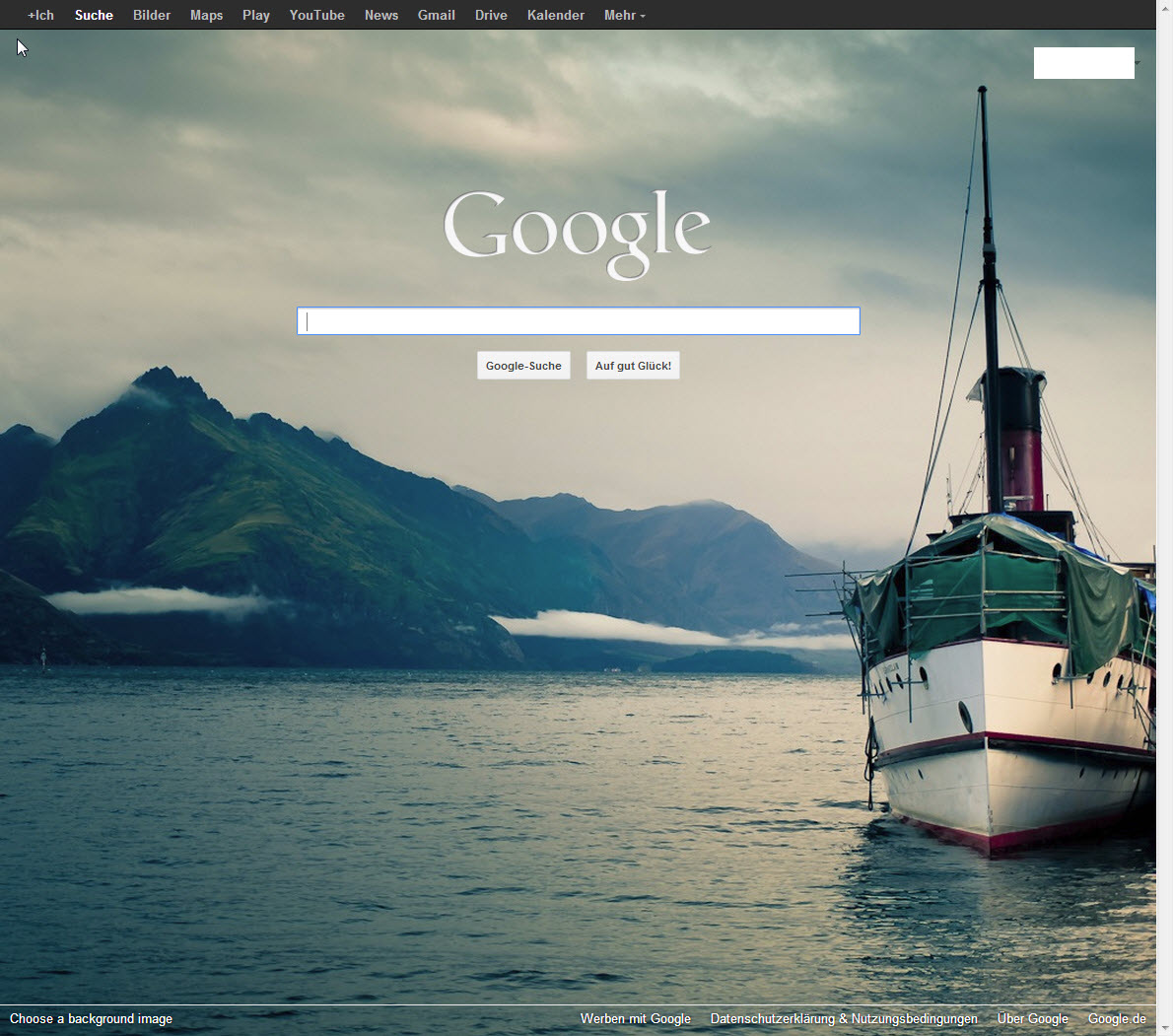 How To Put Wallpaper On Google Homepage