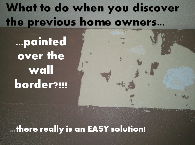How To Remove A Wallpaper Border From A Painted Wall