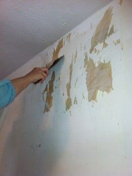 How To Remove Painted Wallpaper From Plaster Walls