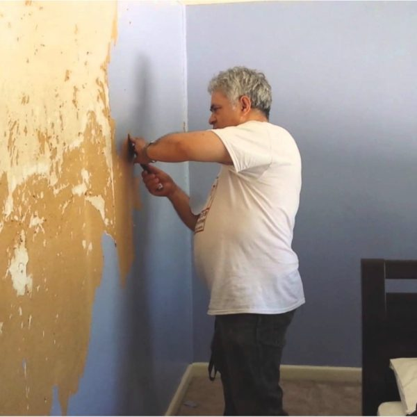 download how to remove painted wallpaper from plaster