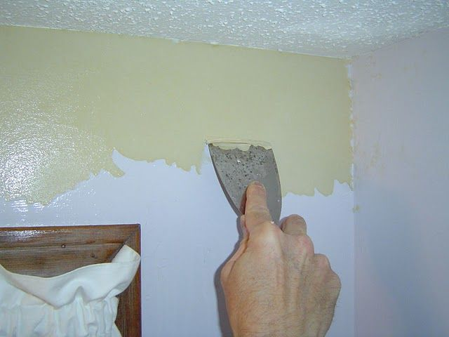 How To Remove Wallpaper Border From Painted Wall