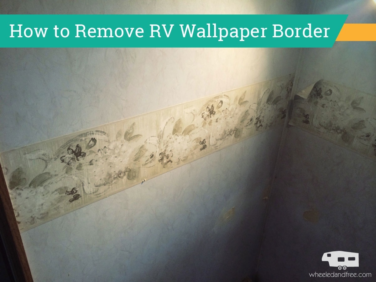 How To Remove Wallpaper Borders On A Painted Wall