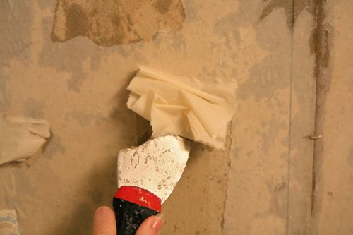 How To Remove Wallpaper From Sheetrock Walls