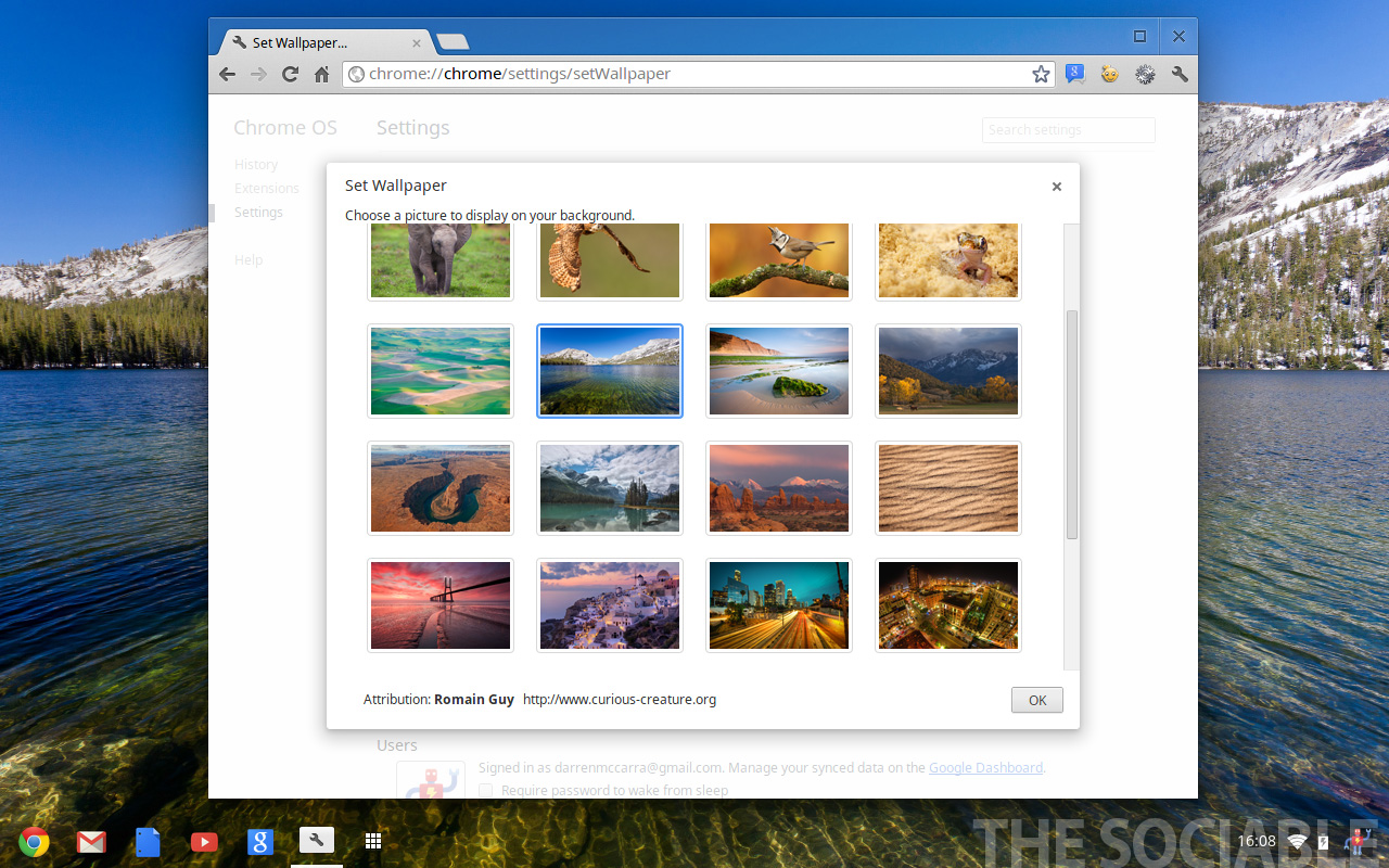 How To Set A Wallpaper On Google Chrome