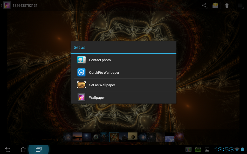 How To Set Wallpaper On Android Tablet