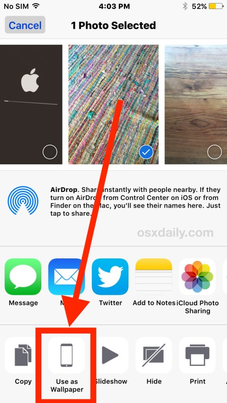 How To Set Wallpaper On Iphone