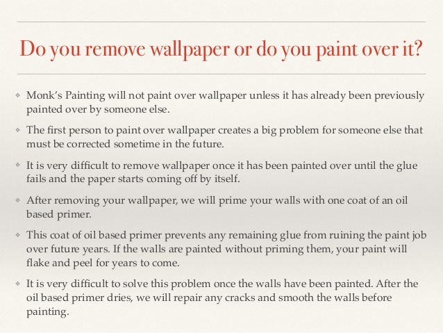 How To Strip Wallpaper That Has Been Painted Over