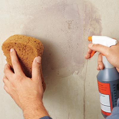 How To Take Off Wallpaper Glue